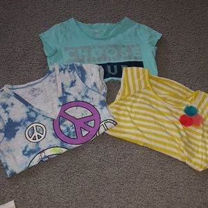 Other - 3 shirts worn with no stains or tears.